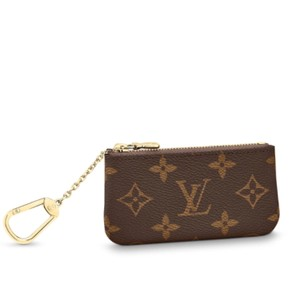 aaa72e9f9b0a Louis Vuitton Monogram New 2018 Canvas Cles Key Coin Credit Card Zip Pouch  Wallet