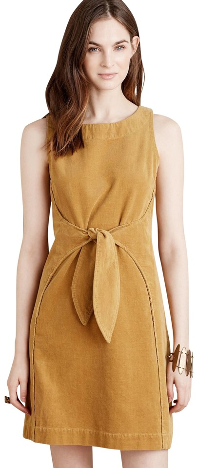 8fa09f055ac Anthropologie Mustard Holding Horses Tied Corduroy Short Casual ...