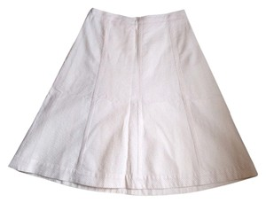 Banana Republic Skirt Pink And Cream