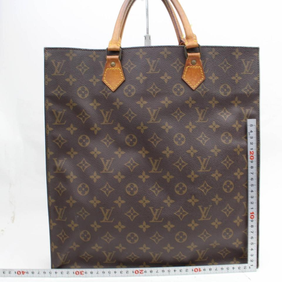 ac1d529ec3ae Louis Vuitton Sac Plat  1st Dibs  Monogram Shopper 868141 Brown ...