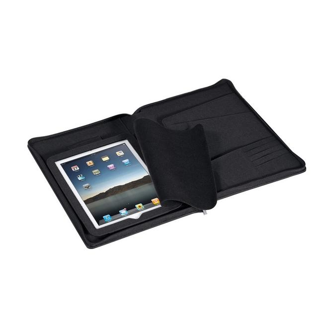 Black Airline A4 Folder with Ipad Compartment Ln 309 Tech Accessory Black Airline A4 Folder with Ipad Compartment Ln 309 Tech Accessory Image 1