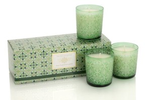 Crabtree & Evelyn CRABTREE & EVELYN Windsor Forest Three Fragranced Candle Set THE NOEL