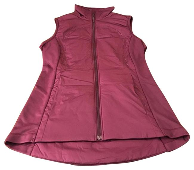 Lululemon Purple Run For Cold Vest-plum Vest Size 4 (S) Lululemon Purple Run For Cold Vest-plum Vest Size 4 (S) Image 1