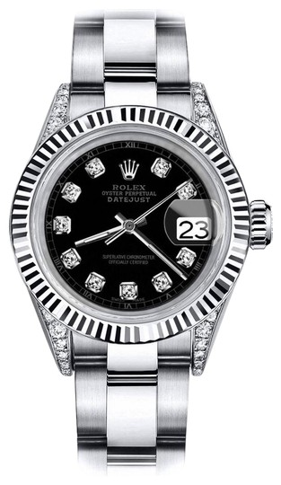 Preload https://img-static.tradesy.com/item/24132887/rolex-stainless-steel-black-track-26mm-datejust-ss-and-18k-white-gold-fluted-bezel-watch-0-1-540-540.jpg