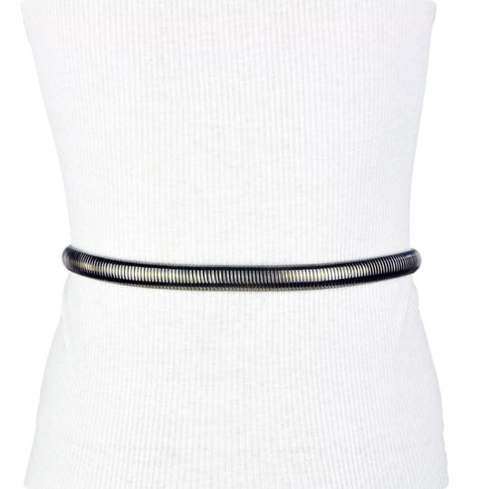 Unbranded Cära Snake Chain Metallic Stretch Belt