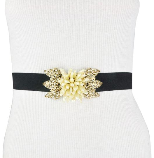 Preload https://img-static.tradesy.com/item/24133233/bcbgmaxazria-black-bcbg-gold-color-flower-rhinestone-faux-diamond-belt-0-1-540-540.jpg