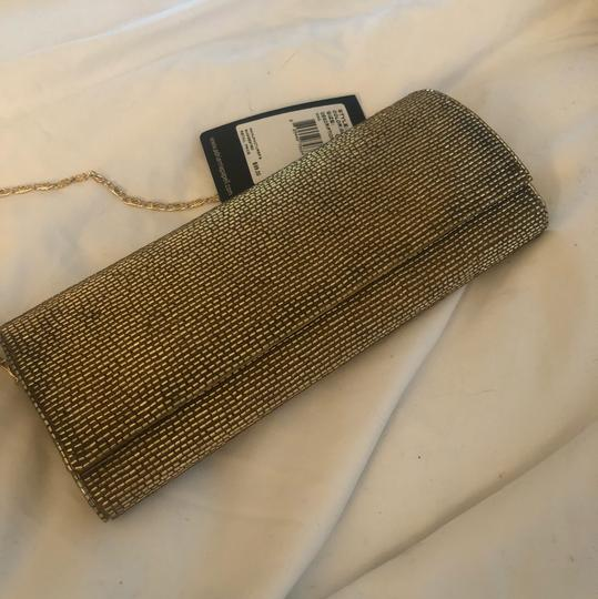 Adrianna Papell Gold Clutch