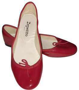 Repetto red Flats