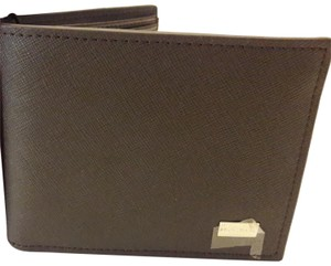 Bruno Magli Bruno magaly Italy Brown men leather wallet
