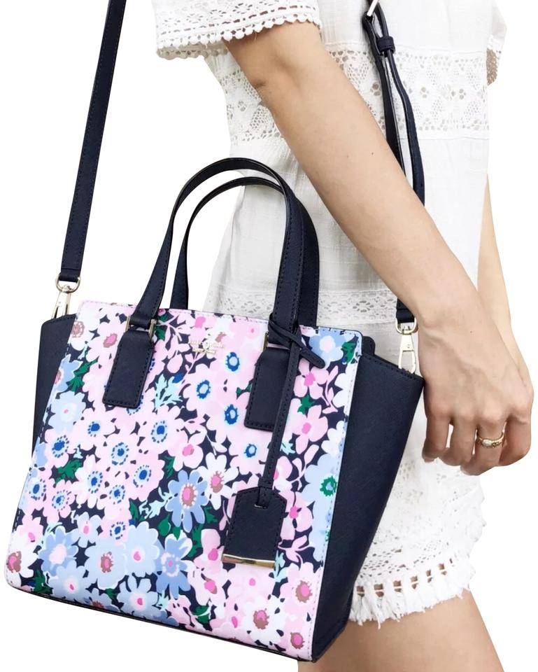 Kate Spade Cameron Street Crossbody New With Tag Satchel in Floral Multi  Image 0 ... 8dfb8c388335b