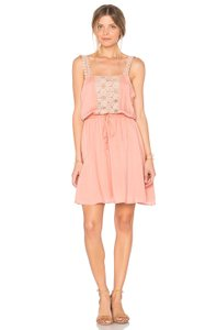 Somedays Lovin short dress Dusty Rose Viscose Sun Beams Daydreams on Tradesy