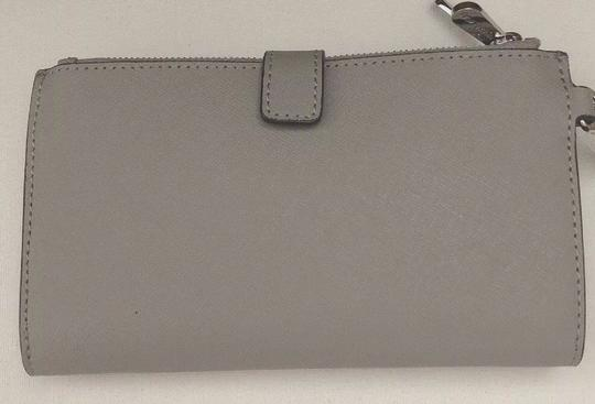 Michael Kors Michael Kors Jet set Travel double zip leather phone Wristlet Wallet