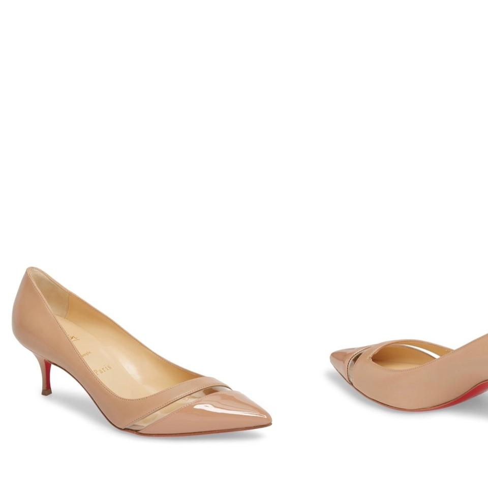 low priced dc013 899b3 Nude 17th Floor Pointy Pumps