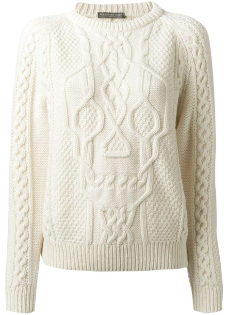 Preload https://img-static.tradesy.com/item/24133532/alexander-mcqueen-cable-knit-skull-design-sweater-0-1-650-650.jpg