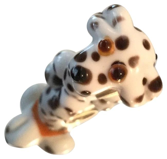 Black and White Look Like Pandora Dalmatian Dog Exquisite Detailed Enjoy This Pet For Your Collection Charm Black and White Look Like Pandora Dalmatian Dog Exquisite Detailed Enjoy This Pet For Your Collection Charm Image 1