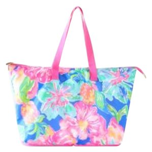 Lilly Pulitzer Tote In Beckon Blue Jungle
