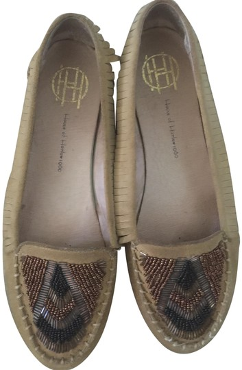 Preload https://img-static.tradesy.com/item/24133700/house-of-harlow-1960-brown-moccasin-flats-size-eu-40-approx-us-10-regular-m-b-0-3-540-540.jpg
