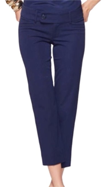 Preload https://img-static.tradesy.com/item/24134057/lilly-pulitzer-blue-midnight-navy-luxury-capri-pants-size-12-l-32-33-0-1-650-650.jpg