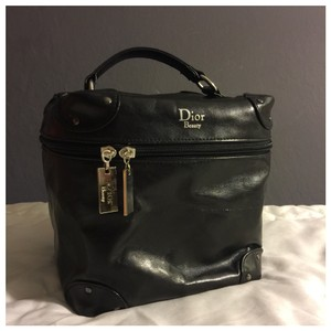 Dior Authentic Christian Dior Beauty Vanity Leather Cosmetic Bag