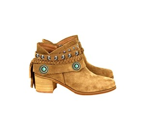 Montana West The Treasured Hippie Cowgirl Designer Affordable Brown Boots