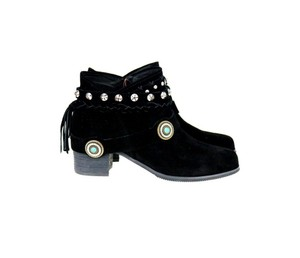 Montana West The Treasured Hippie Cowgirl Designer Affordable Black Boots