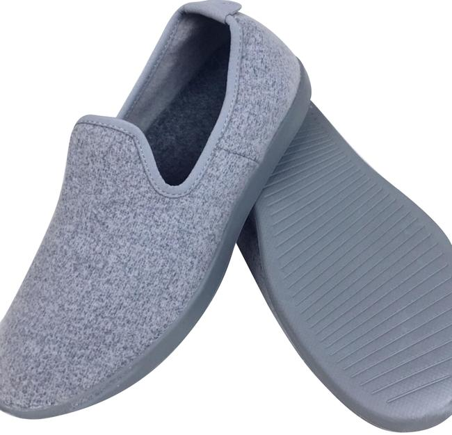 Item - Purple Lavender Lilac Gray Women's Light Sf Wool Slip On Loungers Flats Size US 8 Regular (M, B)