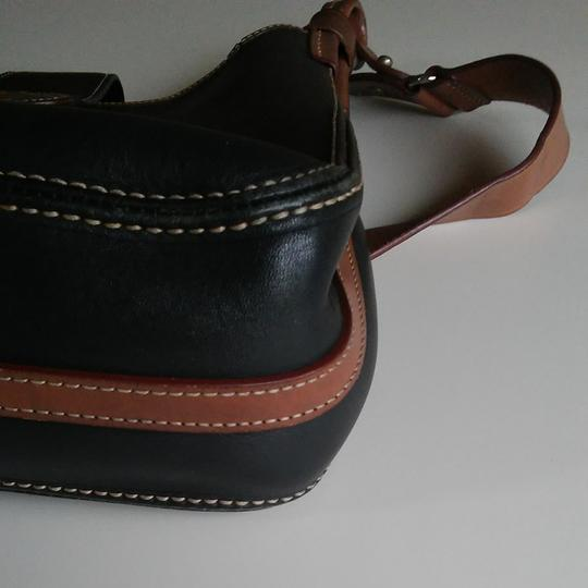Dooney & Bourke Vintage Saddle Adjustable Strap Shoulder Bag