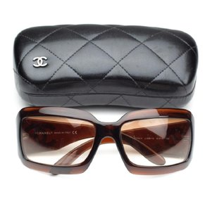 Chanel New Chanel 5076-H Mother of Pearl CC Logo Mother Of Pearl Sunglasses