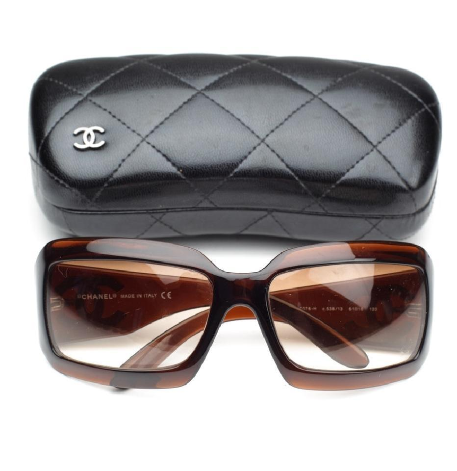 12ac8552db3 Chanel New Chanel 5076-H Mother of Pearl CC Logo Mother Of Pearl Sunglasses  Image ...