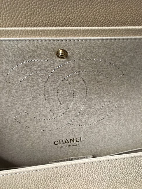 Chanel Classic Flap Boy Quilted Gentle Nude Leather