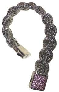 John Hardy classic chain sterling silver with pink saph