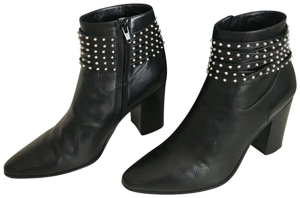 4666aab0eef Saint Laurent Black French Boots/Booties Size EU 39.5 (Approx. US ...