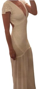 white Maxi Dress by ale by alessandra
