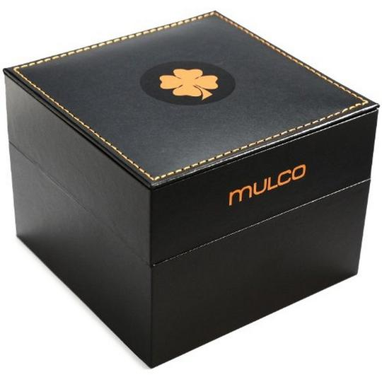 Mulco MW53547023 Unisex Black Silicone Band With Black Analog Dial Watch Image 2