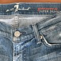 7 For All Mankind Skinny Jeans-Light Wash Image 3