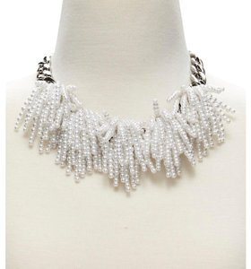 Banana Republic Pearl Explosion with Metallic Chain