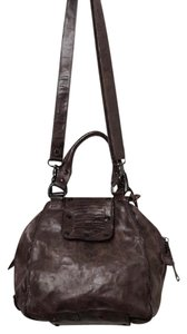 A.S. 98 Purse Distressed Leather Leather Cross Body Bag