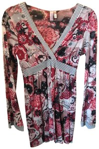 Sweet Pea by Stacy Frati short dress Multicolored Floral on Tradesy