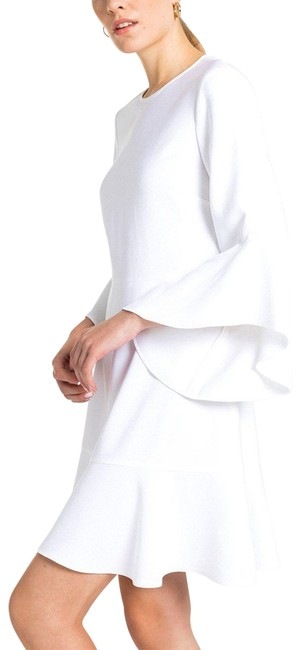 Preload https://img-static.tradesy.com/item/24135678/alc-off-white-alc-minimalist-flounce-with-dramatic-ruffles-and-bell-sleeves-short-casual-dress-size-0-1-650-650.jpg