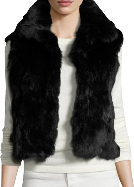 Preload https://img-static.tradesy.com/item/24135895/adrienne-landau-black-fitted-genuine-fur-vest-size-4-s-0-3-650-650.jpg