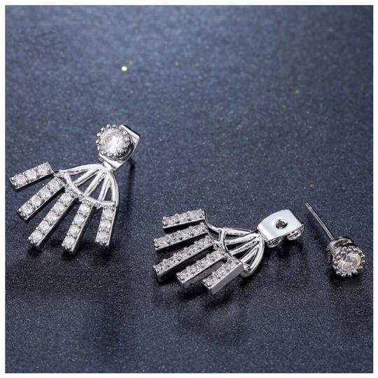 ME-Boutiques Private Label Collection Swarovski Crystals The Alika Jacket Earrings S1