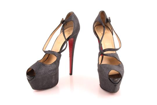 Preload https://img-static.tradesy.com/item/24135911/christian-louboutin-black-glitter-exagona-peep-toe-criss-pumps-size-us-12-regular-m-b-0-0-540-540.jpg