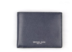 Michael Kors MICHAEL KORS MEN'S Warren JET SET Leather BILLFOLD WALLET Gift Box