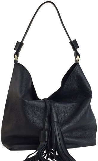 Preload https://img-static.tradesy.com/item/24136083/new-made-in-italy-fashion-shoulder-black-genuine-leather-hobo-bag-0-2-540-540.jpg