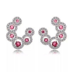 ME-Boutiques Private Label Collection Swarovski Crystals The Anika Curved Earrings S3