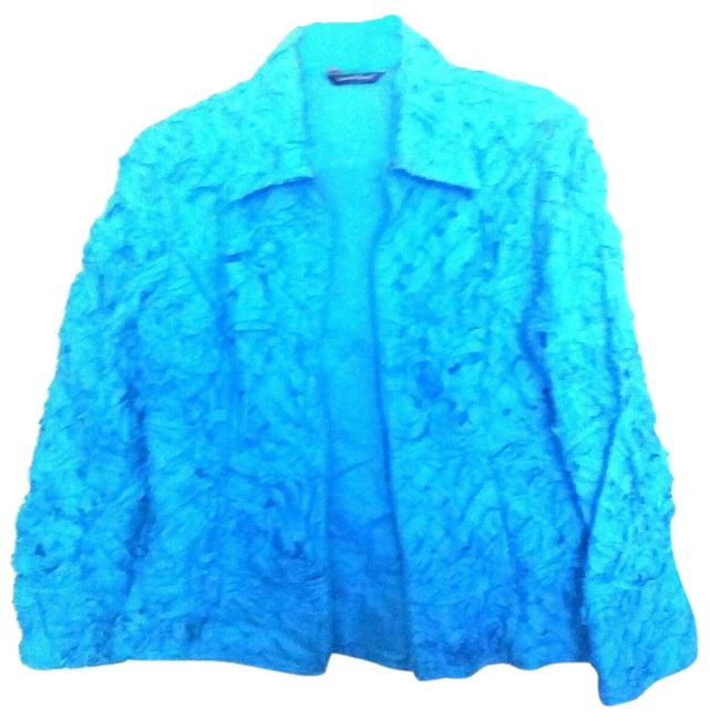 Preload https://img-static.tradesy.com/item/24136178/samuel-dong-turquoise-small-textured-sleeve-fully-lined-jacket-cardigan-size-6-s-0-1-650-650.jpg