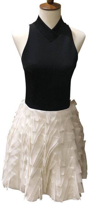 Preload https://img-static.tradesy.com/item/24136218/sachin-babi-black-and-white-party-short-cocktail-dress-size-2-xs-0-1-650-650.jpg