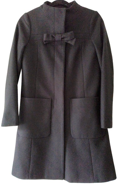 Preload https://img-static.tradesy.com/item/24136249/jcrew-black-bow-coat-size-0-xs-0-1-650-650.jpg