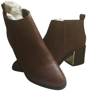 Nine West Brown/Natural Boots