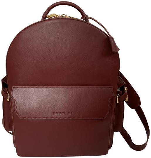 Preload https://img-static.tradesy.com/item/24136262/buscemi-phd-clean-large-burgundy-red-leather-backpack-0-1-540-540.jpg